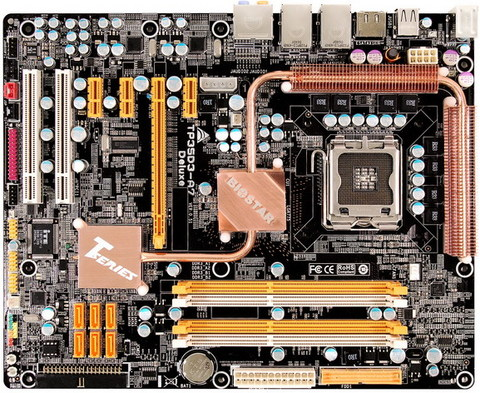 TP35D3-A7 Deluxe INTEL Socket 775 gaming motherboard